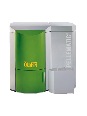 Chaudière à pellets Okofen Pellematic Energreen