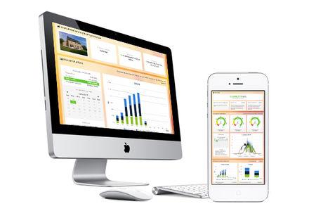 Online monitoringsysteem voor de bewaking van de fotovoltaïsche productie