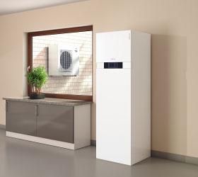 Pompe à chaleur production et stockage de l'eau chaude Energreen