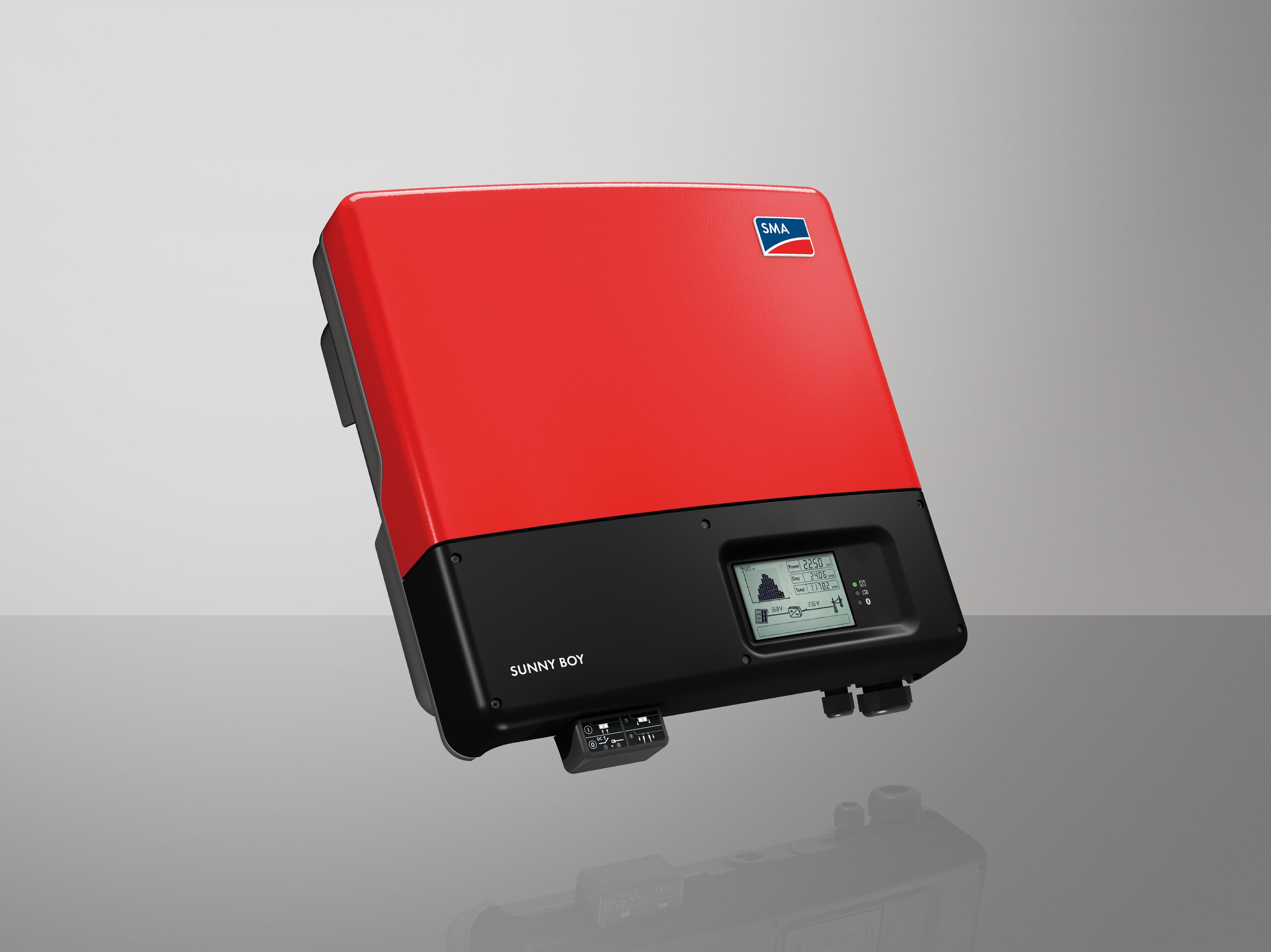 Onduleur photovoltaïque monophasé SMA Sunny Boy 3000TL-3600TL-4000TL-5000TL Energreen