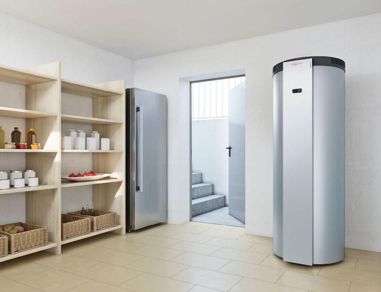 Pompe à chaleur boiler thermodynamique pour la production et le stockage de l'eau chaude sanitaire Energreen