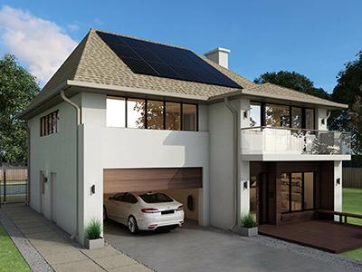 Installation solaire photovoltaïque Sunpower Maxeon 3 375W Black | Energreen