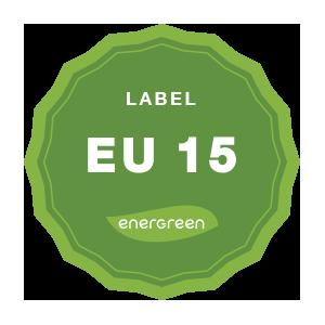 Panneaux photovoltaïques Label EU 15 Energreen