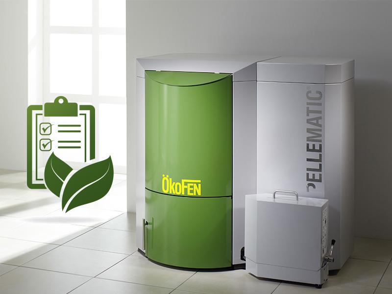 Energreen installe votre chaudière à pellets Okofen