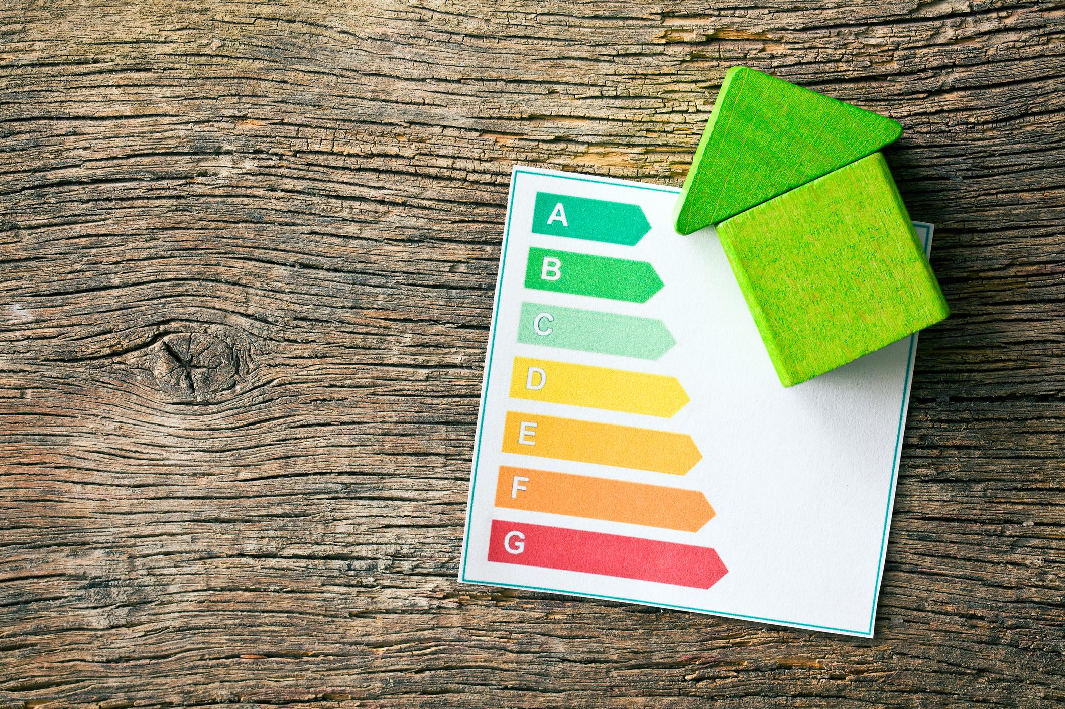 Niveau PEB de performance énergétique du bâtiment