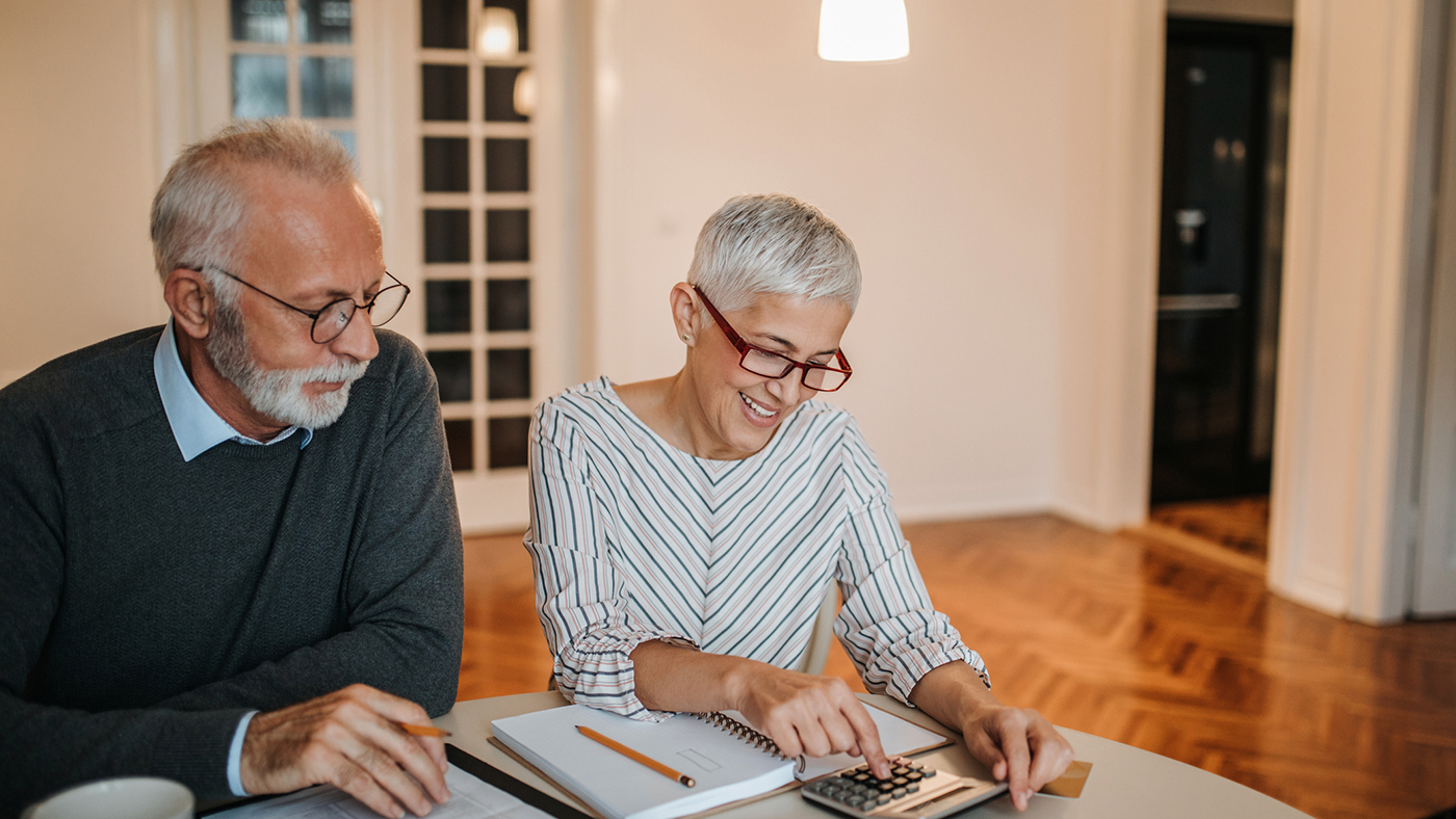 Couple mature ayant investi sereinement avec Energreen