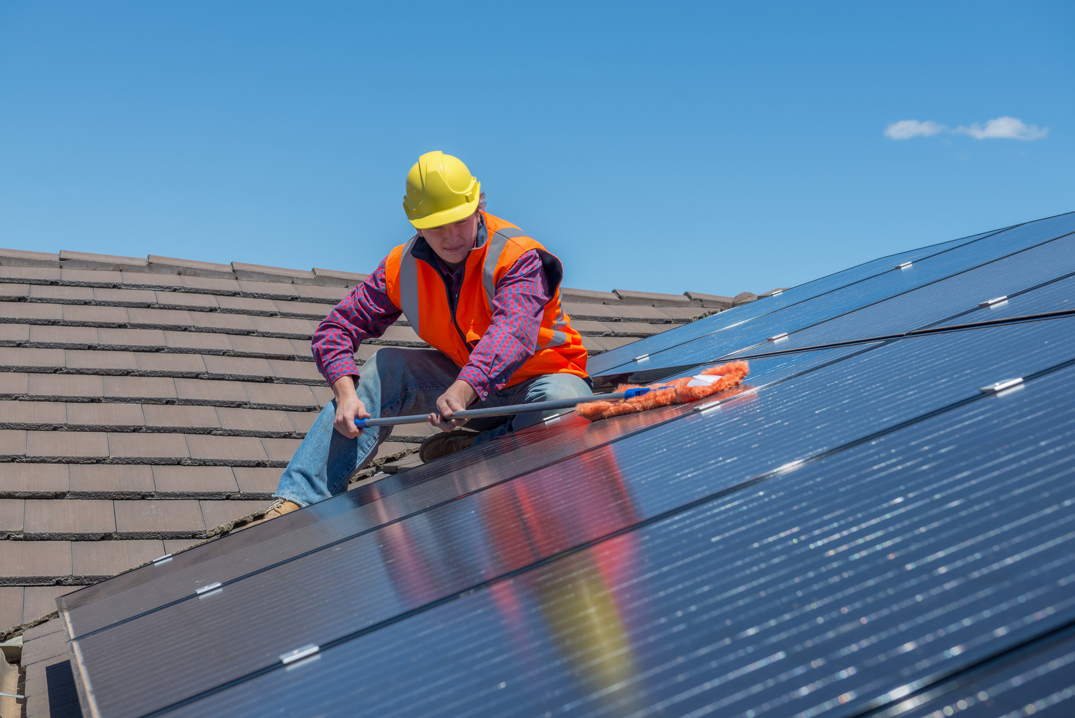 Energreen uw partner voor de reiniging van uw fotovoltaïsche panelen