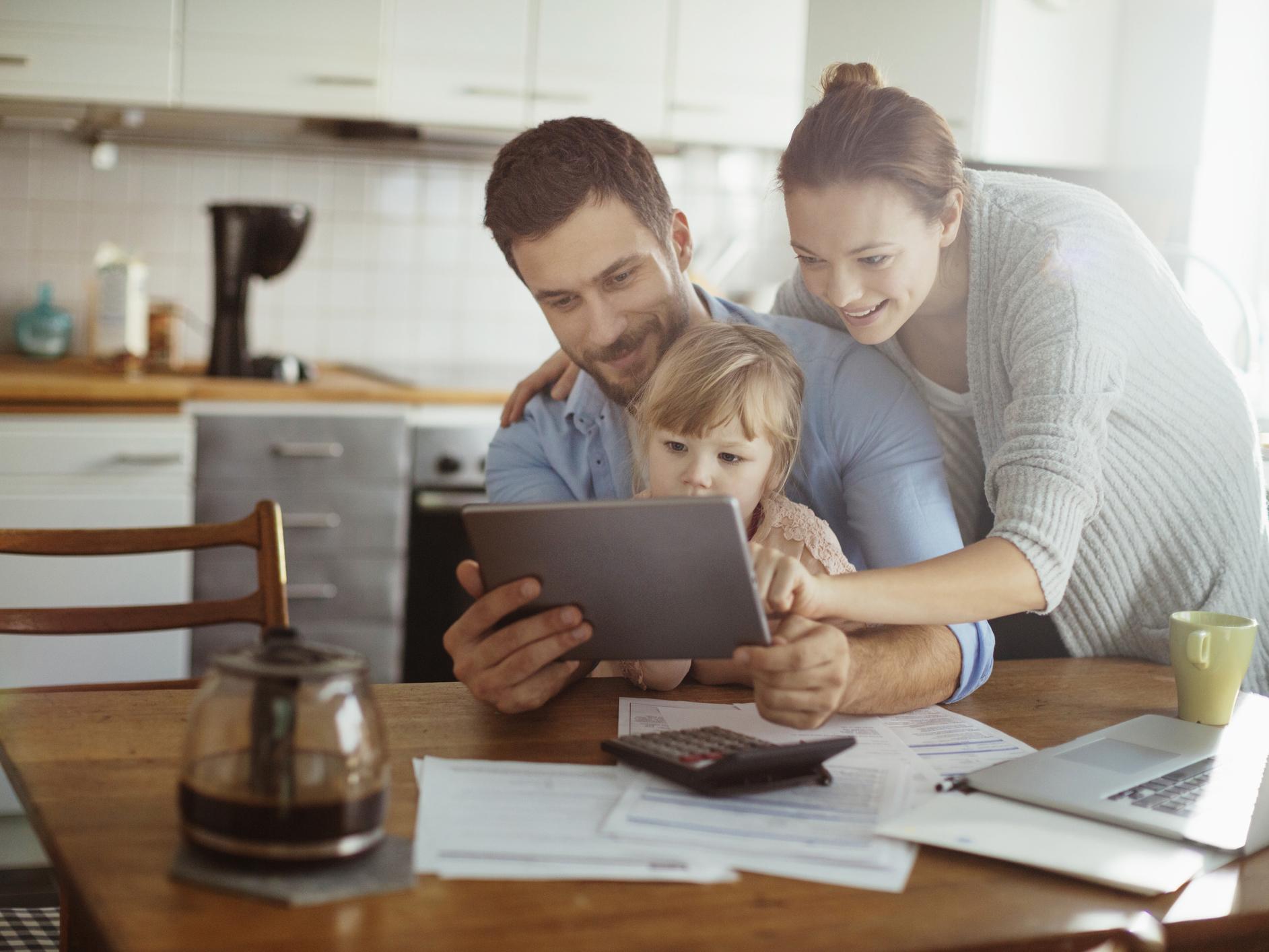 Famille ayant investi dans le renouvelable avec Energreen