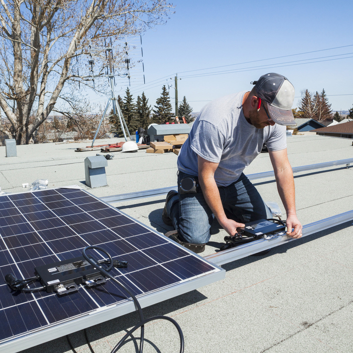 Energreen uw installateur van fotovoltaïsche panelen voor particulieren en professionals