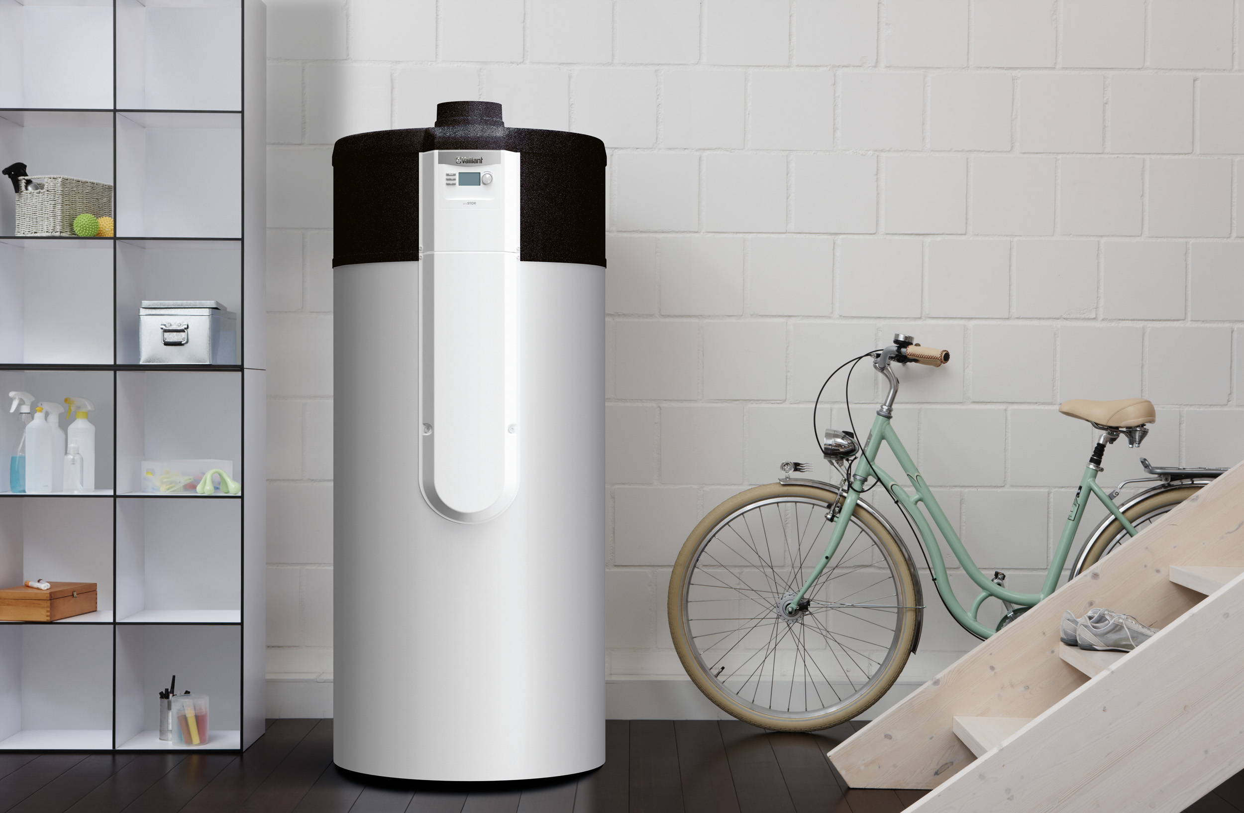 Energreen installe votre boiler thermodynamique Vaillant aroSTOR pour la production d'eau chaude
