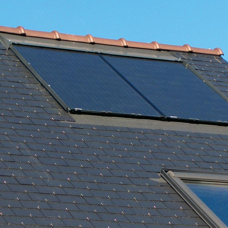 Installation panneaux photovoltaïques en intégration Energreen