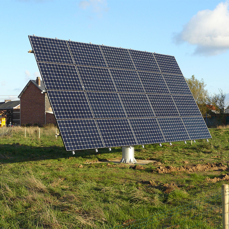 Installation tracker-suiveur solaire Energreen