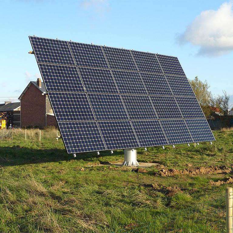 Fotovoltaïsche installatie zonnetracker Energreen