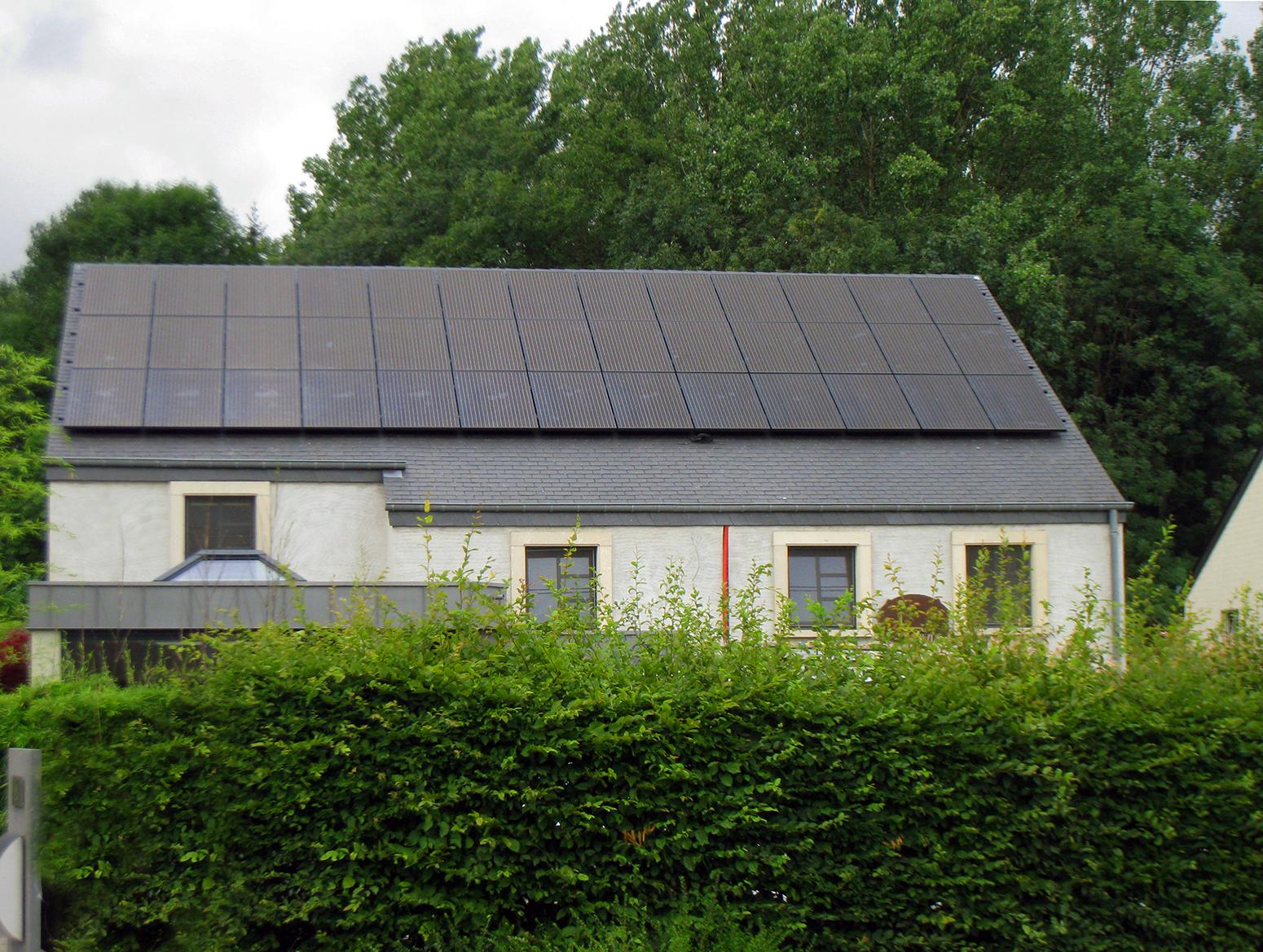 Fotovoltaïsche installatie  Energreen