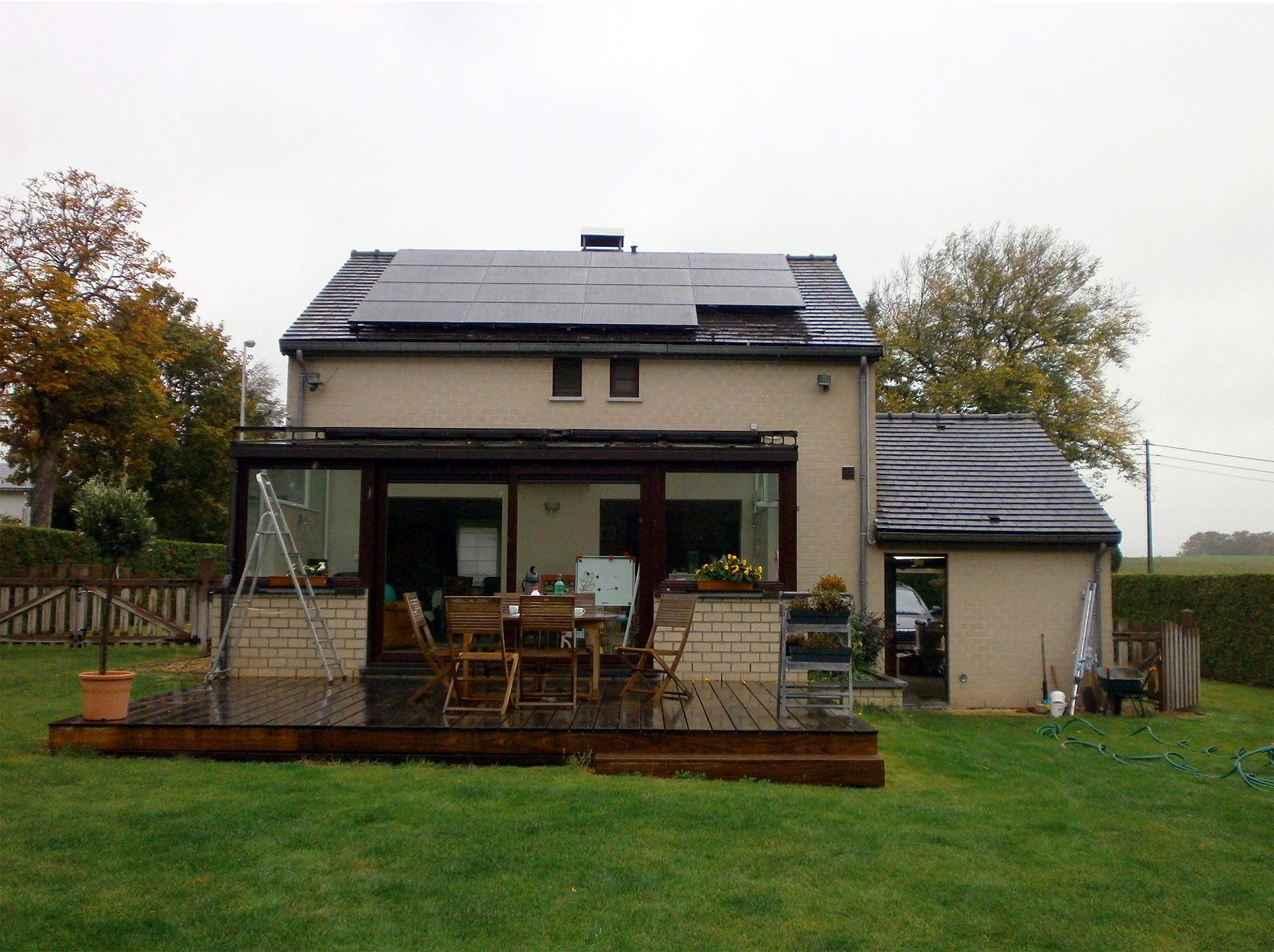 Fotovoltaïsche panelen installatie Energreen