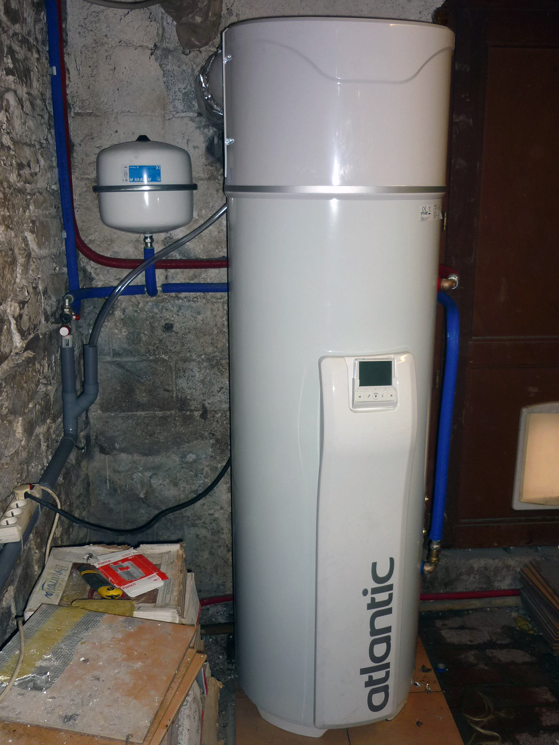 Installation boiler thermodynamique Energreen