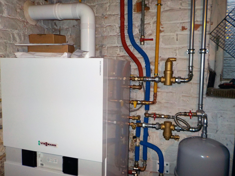 Installation Chaudière À Condensation chaudière gaz à condensation viessmann, lasne - energreen