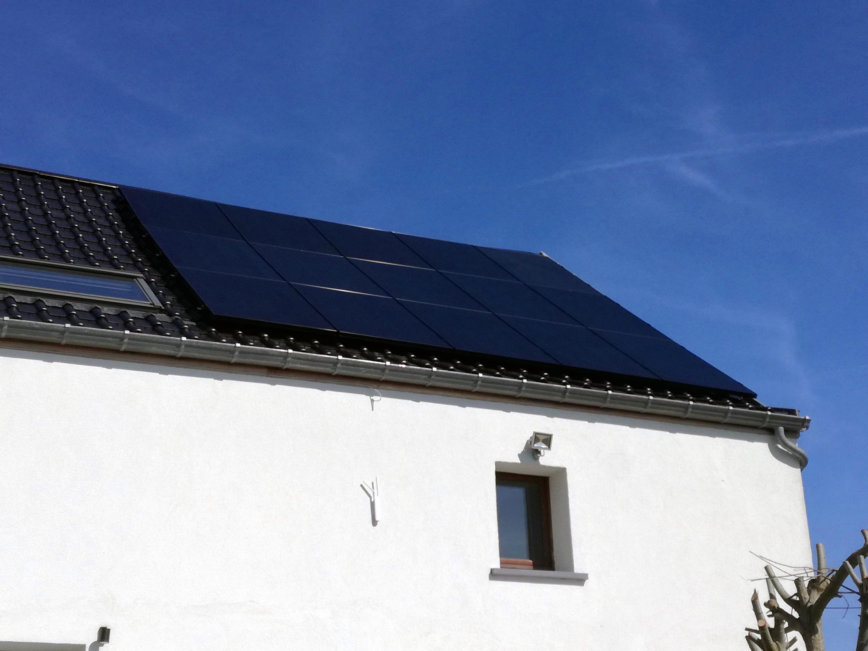 Installation panneaux photovoltaïques Sunpower X21 335 Energreen