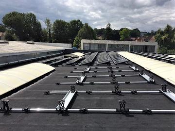 Installation photovoltaïque Sunpower toit plat Energreen