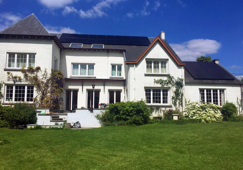 Installation panneaux photovoltaïques Sunpower X20 Black 327 Energreen