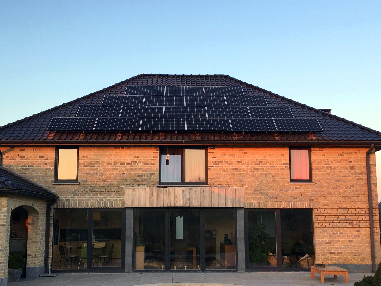 Installation panneaux photovoltaïques Sunpower X22 360 Energreen