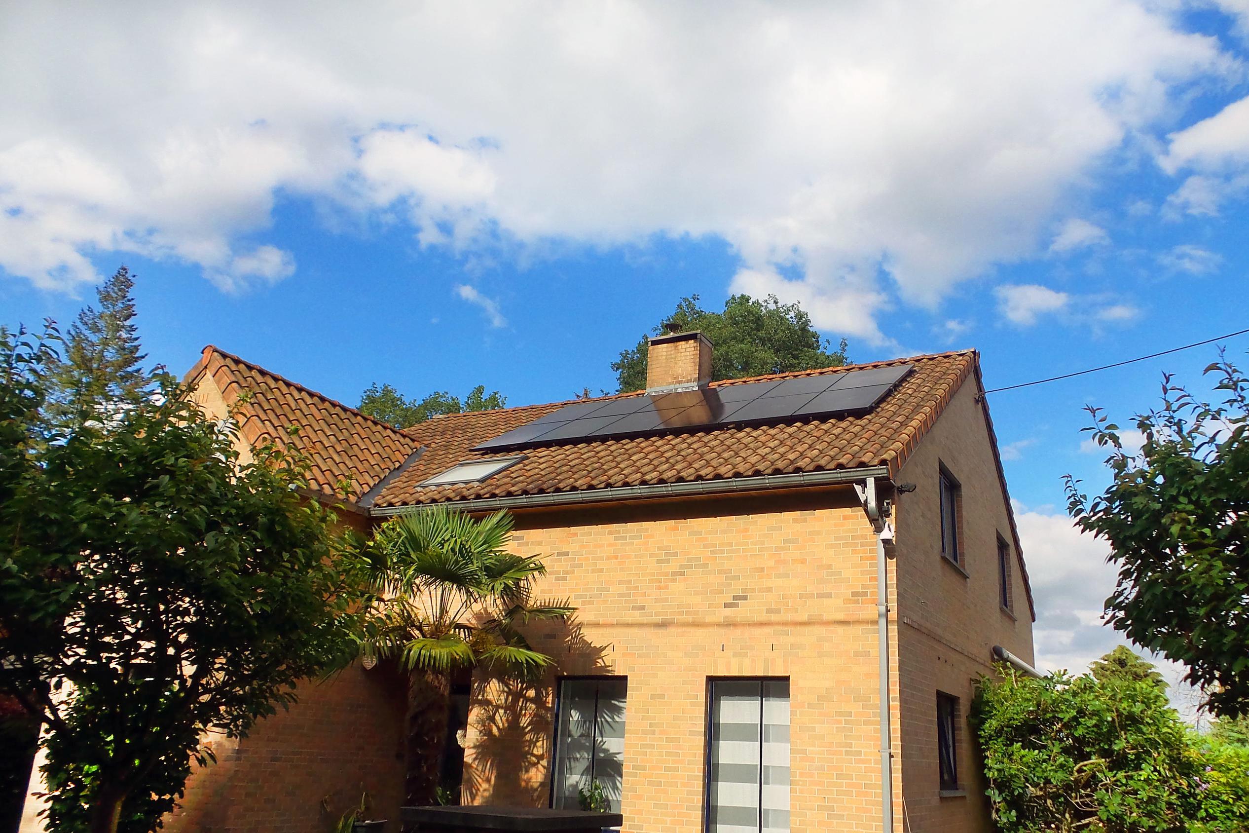 Installation panneaux photovoltaïques Sunpower Energreen