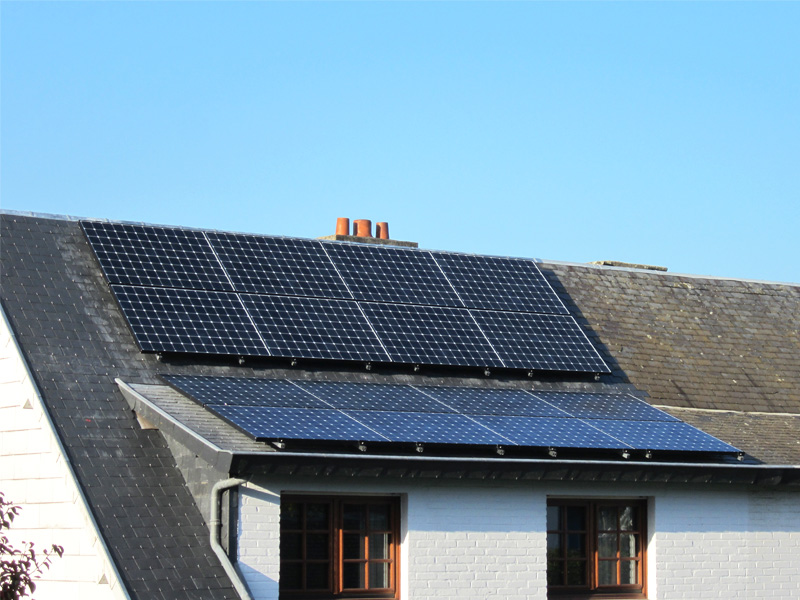 Installation panneaux photovoltaïques Sunpower E20 333 Energreen