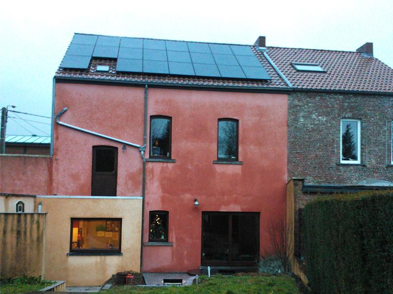 Installation panneaux photovoltaïques Sunpower E18 300 Black Energreen