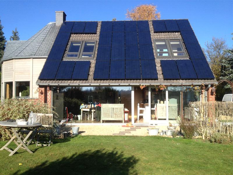 Fotovoltaïsche installatie Sunpower 230 Black Energreen