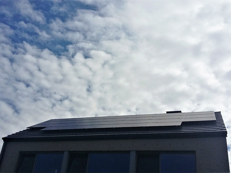 Installation panneaux photovoltaïques IBC Solar Full Blak Energreen