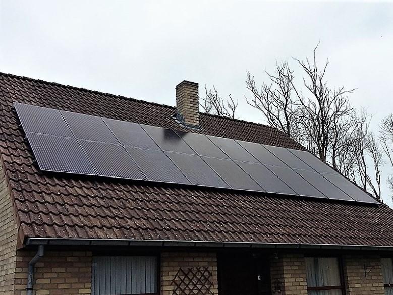 Installation panneaux photovoltaïques IBC Solar Full Black Energreen