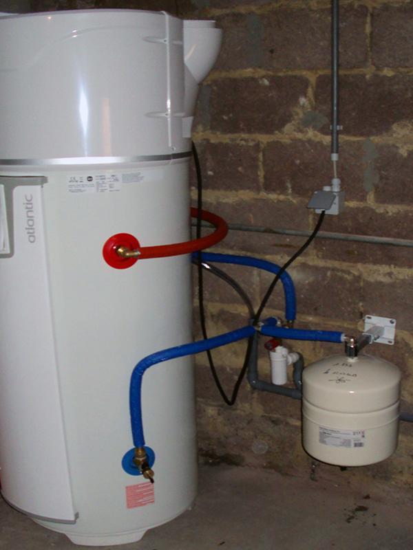 Installation boiler thermodynamique Atlantic Energreen