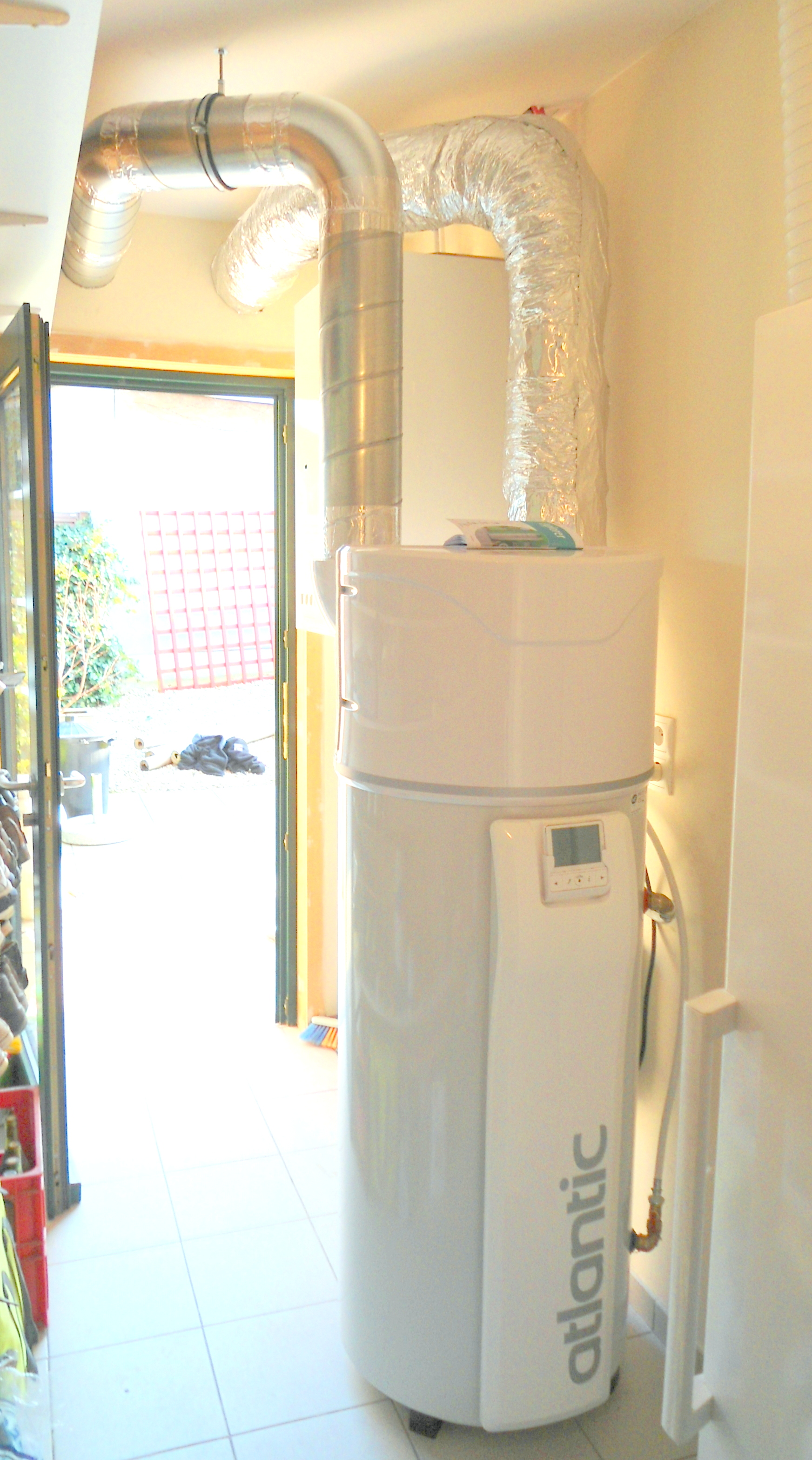 Installation boiler thermodynamique Atlantic Energreen