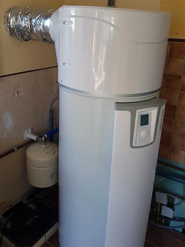 Boiler thermodynamique : Pompe À Chaleur Eau Chaude Sanitaire 200l @ 7000 Mons, 11/02/2019 (1)