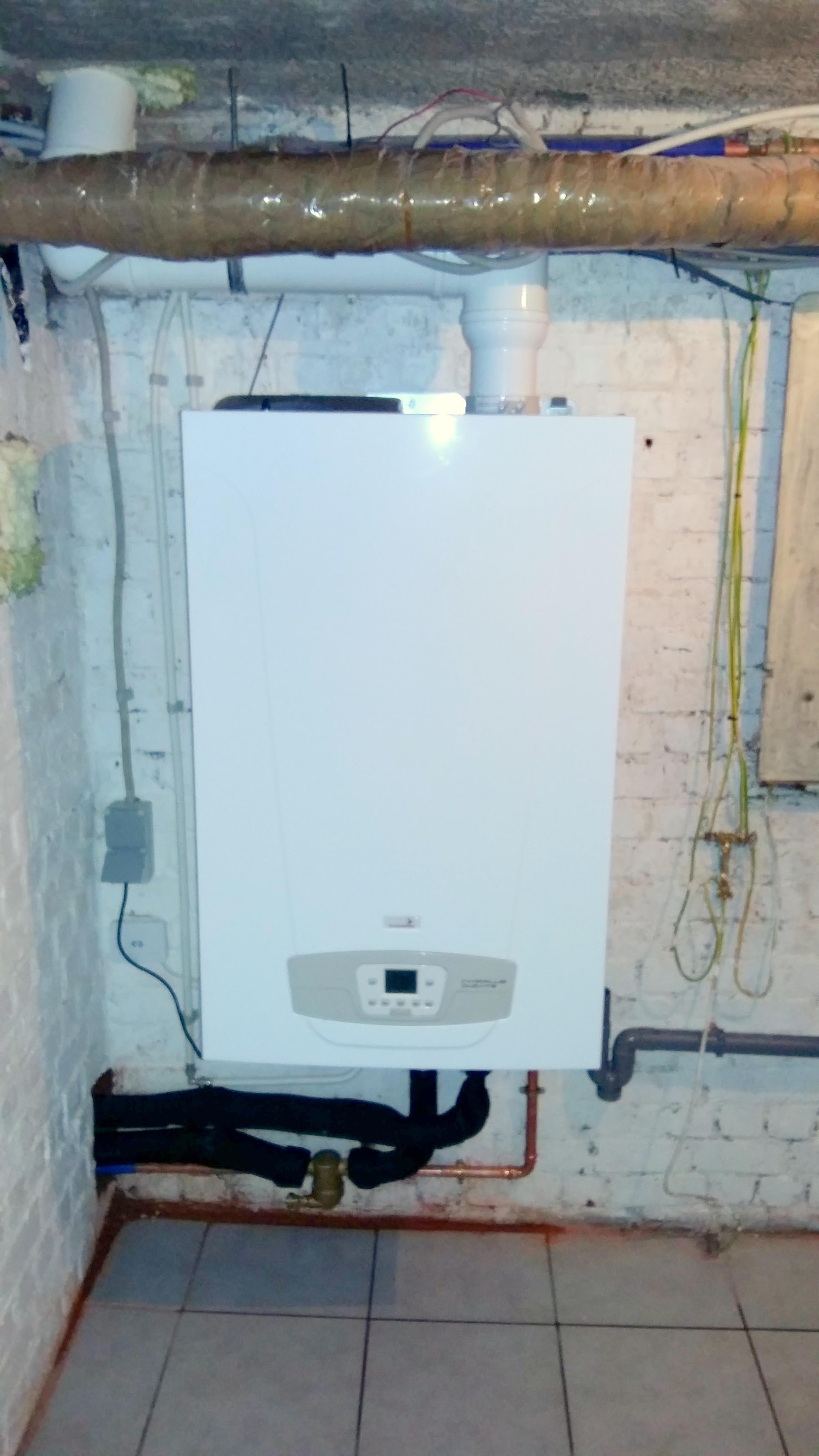 Installation chaudière à condensation Energreen
