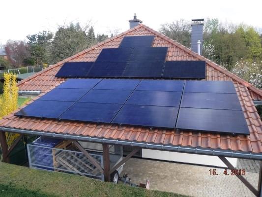 Installation panneaux photovoltaïques Sunpower X21 335 Black Energreen
