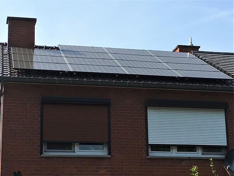 Fotovoltaïsche installatie IBC Solar Energreen