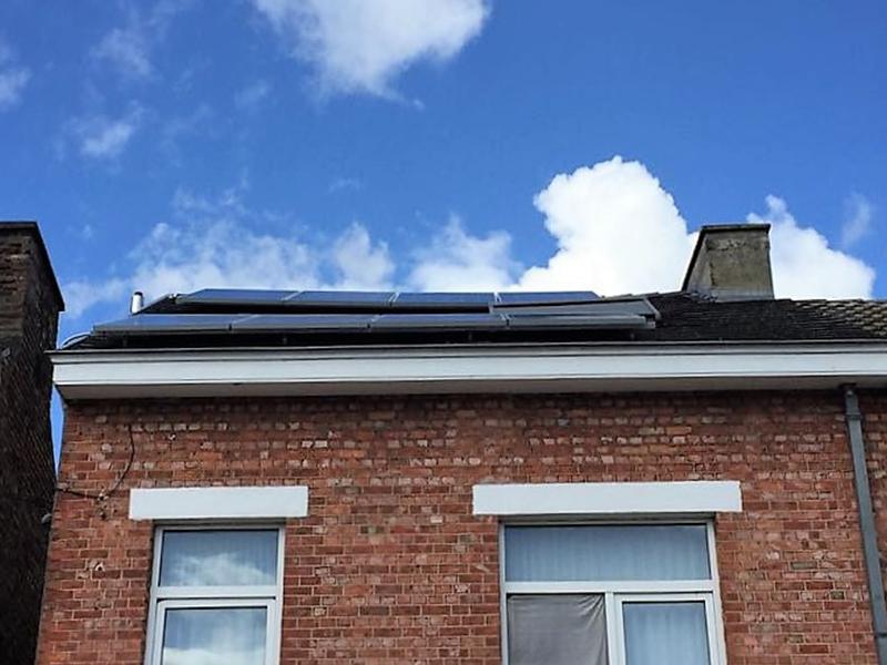 Installation panneaux photovoltaïques IBC Solar Energreen