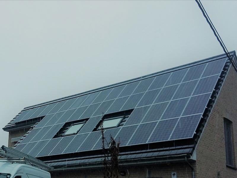 Installation panneaux photovoltaïques Jinko Eagle Energreen