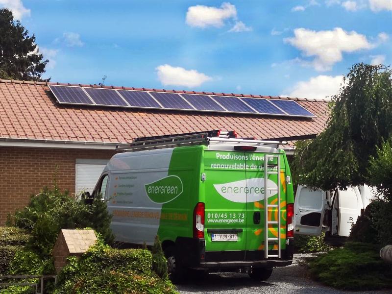Installation panneaux photovoltaïques Luxor Energreen