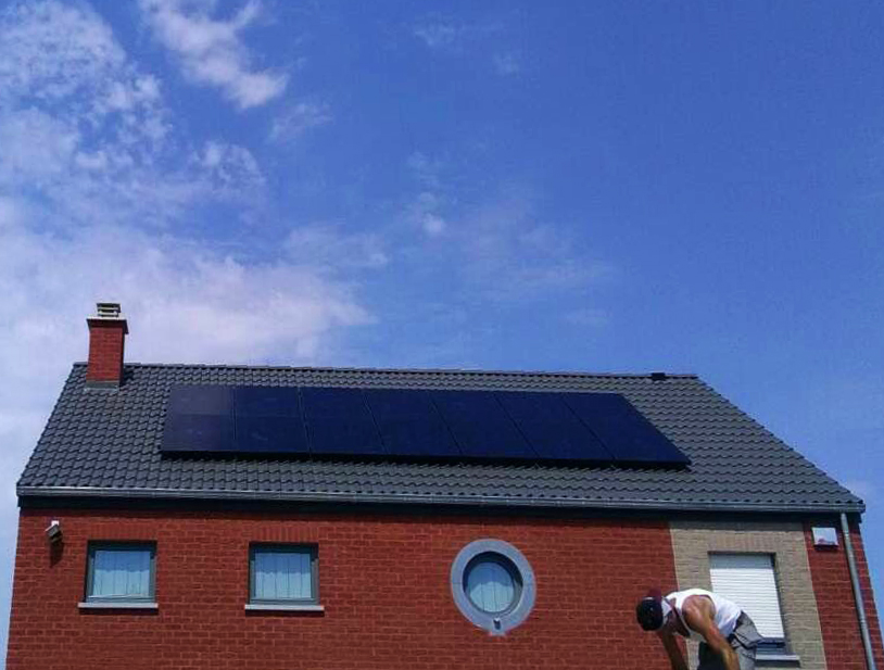 Installation panneaux photovoltaïques Sunpower E19 315 Black Energreen