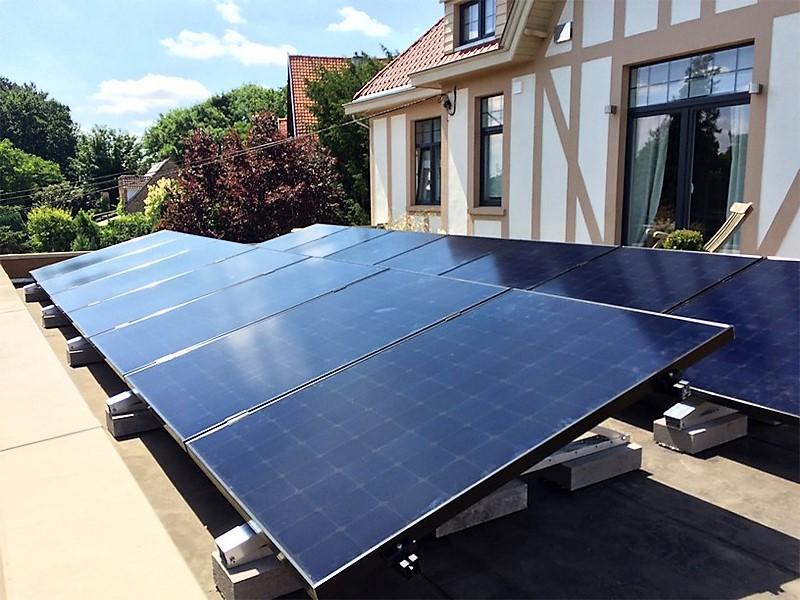 Fotovoltaïsche installatie Sunpower E19 320 Black Energreen