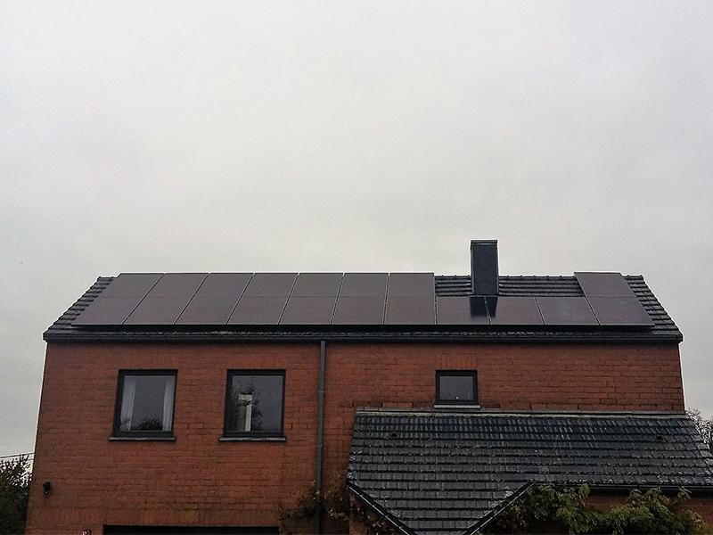 Installation panneaux photovoltaïques Sunpower E19 320 Black Energreen