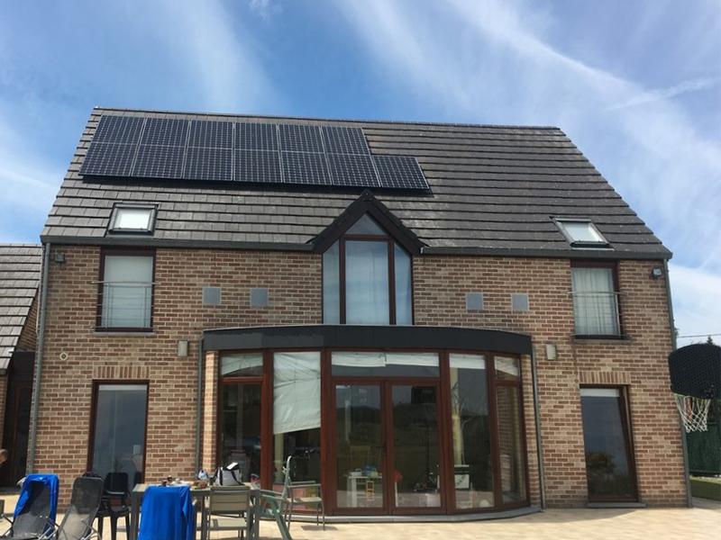 Fotovoltaïsche installatie Sunpower E20 327 Energreen