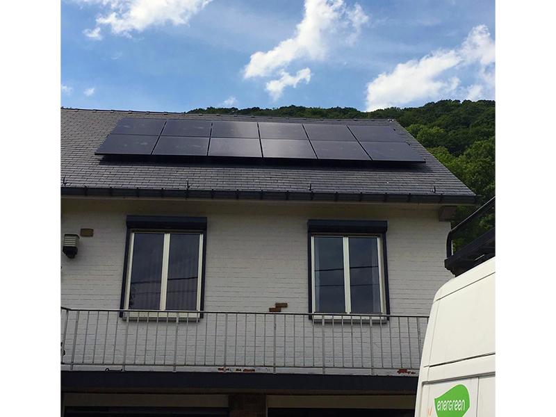 Fotovoltaïsche installatie Sunpower Performance P19 315 Black Energreen