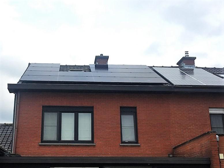 Installation panneaux photovoltaïques Sunpower X20 327 Black Energreen
