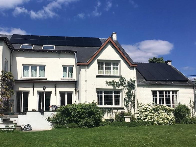 Fotovoltaïsche installatie Sunpower X20 327 Black Energreen