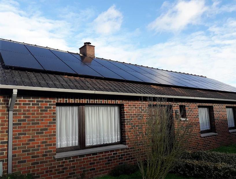 Installation panneaux photovoltaïques Talesun Black Energreen