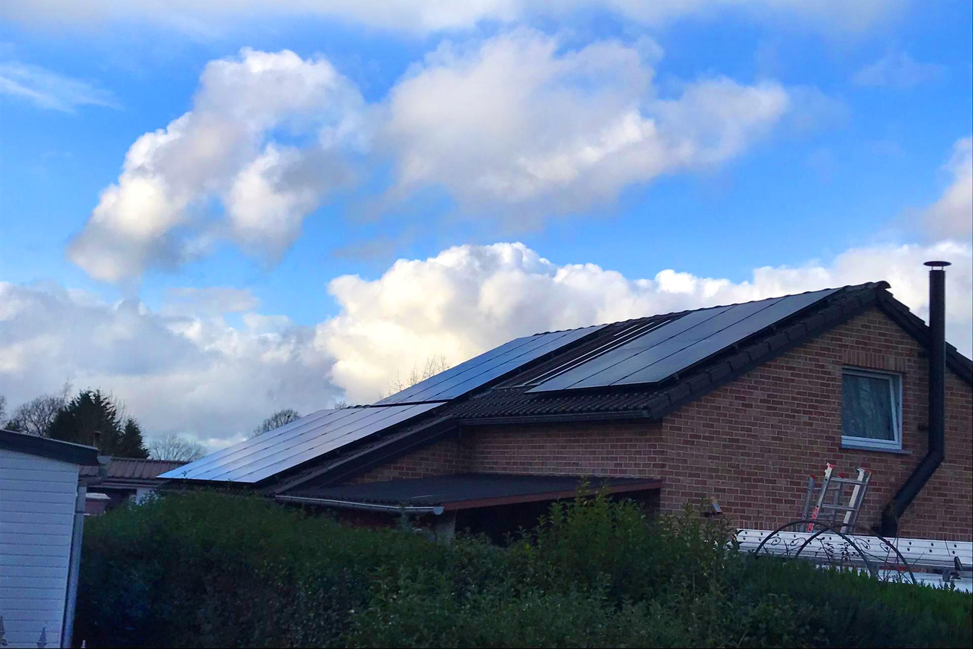 Installation panneaux photovoltaïques Sunpower Maxeon3 390 Energreen