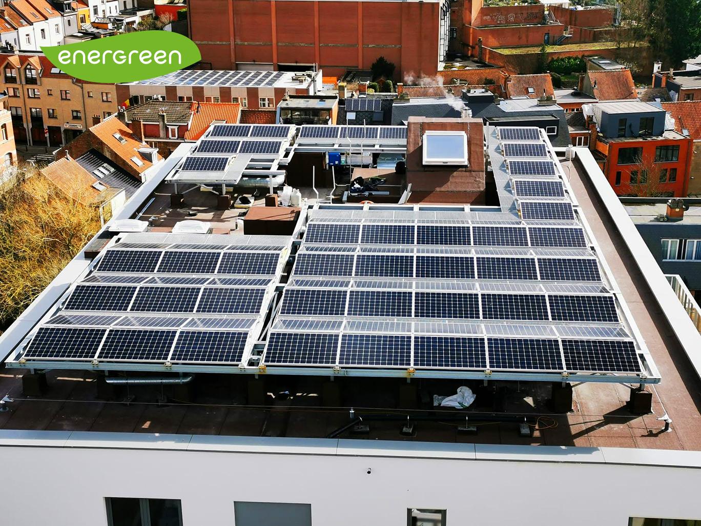 Installation panneaux photovoltaïques B2B Sunpower X22 360 Energreen